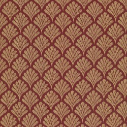 Coquille Red Kasmir Fabric