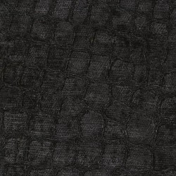 Croc Black Kasmir Fabric