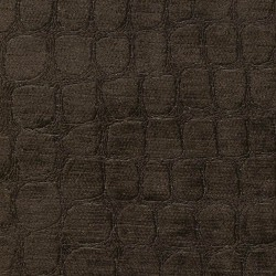 Croc Chocolate Kasmir Fabric