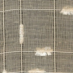 Crosstown Sheer Buff Kasmir Fabric