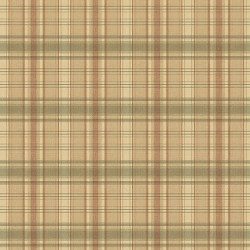 Delaney Green Sunny Plaid Wallpaper