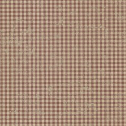 Greer Burgundy Gingham Check Wallpaper