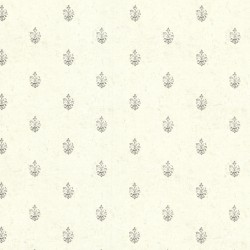 Bristol Ivory Medallion Toss Wallpaper