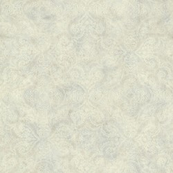 Christiana Grey Damask Medallion Wallpaper