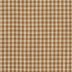 D114 Wheat Gingham Fabric by Charlotte Fabrics