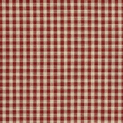 D115 Brick Gingham Fabric by Charlotte Fabrics