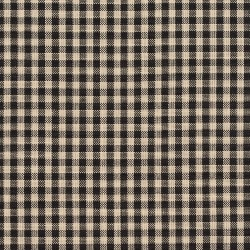 D117 Onyx Gingham Fabric by Charlotte Fabrics