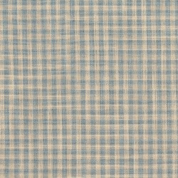 D118 Cornflower Gingham Fabric by Charlotte Fabrics