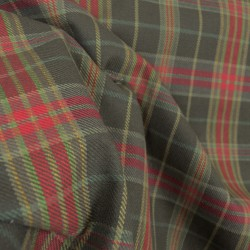 D2891 Parkhill Chestnut Plaid Fabric