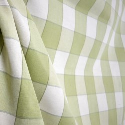 D2931 Monroe Sagegrass Check Cotton Fabric