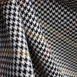 D2934 Pembrook Onyx Houndstooth Plaid Fabric