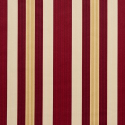 D302 Ruby Noble Stripe Fabric by Charlotte Fabrics