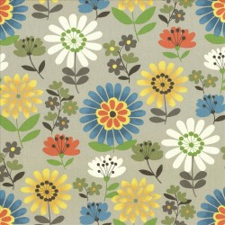 Daisy Daze Clay Kasmir Fabric