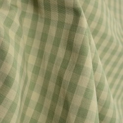 DC32 Chester Sage Check Plaid Fabric