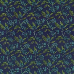 Dewberry Navy Kasmir Fabric