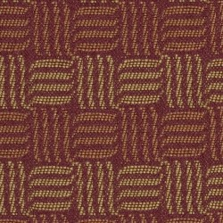Dominos Brick Red Burch Fabric
