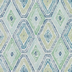 DP61708 72 Blue/Green Duralee Fabric