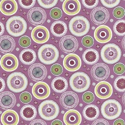 Enlightened Damson Kasmir Fabric