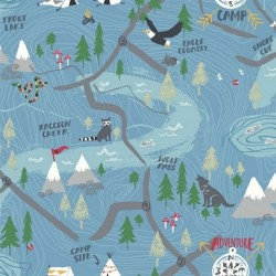 FA41902 Campground Wallpaper