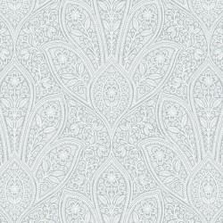 FH37545 Distressed Paisley Wallpaper