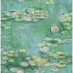 FI71504 Water Lilies Wallpaper