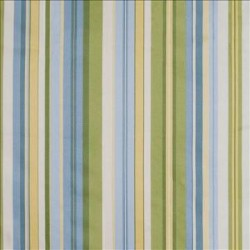 Gazebo Stripe Blue Sky Kasmir Fabric