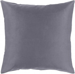 Griffin Pillow with Poly Fill in Charcoal | GR002-1319P