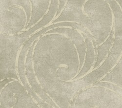 HAV40806 Grey Velvet Swirls Wallpaper