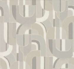 HC7597 Grey Sculpture Garden Wallpaper
