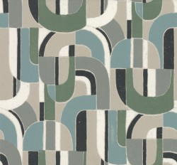 HC7599 Dark Blue/Green Sculpture Garden Wallpaper