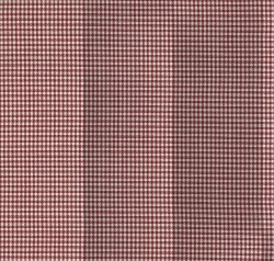Houndstooth Check Crimson Tempo Fabric