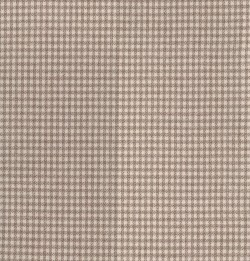 Houndstooth Check Sand Tempo Fabric