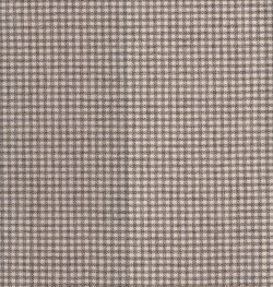 Houndstooth Check Smoke Tempo Fabric