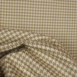 Houndstooth String Cotton Upholstery Fabric