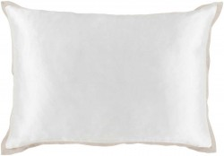 HS003-1319 Heiress Pillow with Poly Fill in Light Gray