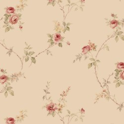 IM36400 In-Reg White Wedding Trail Wallpaper