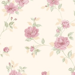 IM36404 In Register Rose Trail Wallpaper