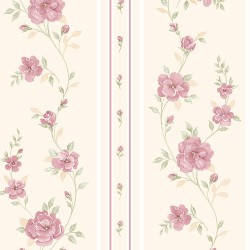 IM36410 In Register Rose Stripe Wallpaper