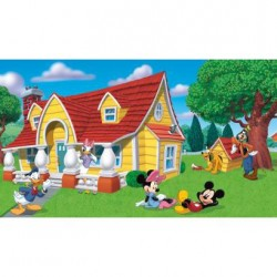 JL1222M Disney Mickey & Friends Pre-Pasted Mural