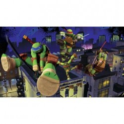 Murals Teenage Mutant Ninja Turtles Cityscape Pre-Pasted Mural