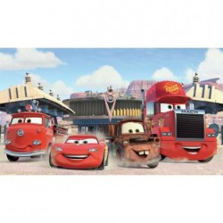 JL1303M Disney Pixar Cars Friends to the Finish Pre-Pasted Mural