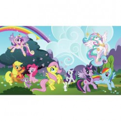 Murals My Little Pony Ponyville Pre-Pasted Mural