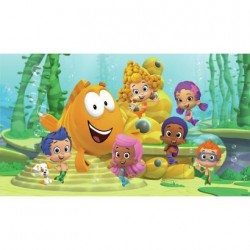 Murals Bubble Guppies Pre-Pasted Mural