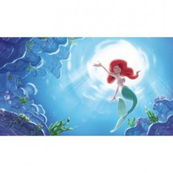 JL1370M Disney The Little Mermaid Part of Your World Pre-Pasted Mural