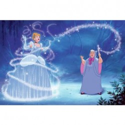 JL1375M Disney Cinderella Magic Pre-Pasted Mural