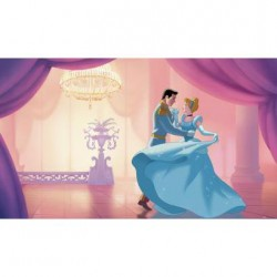 "JL1376M Disney Cinderella ""So This is Love"" Pre-Pasted Mural"