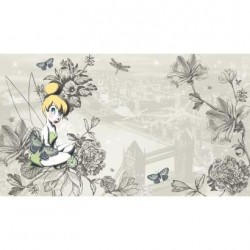 Murals Vintage Tinker Bell Pre-Pasted Mural