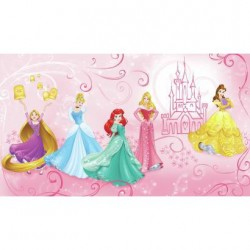 JL1388M Disney Princess Enchanted Pre-Pasted Mural
