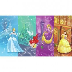 JL1391M Disney Princess Scenes Prepasted Mural