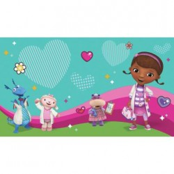 JL1396M Doc McStuffins and Friends Pre-Pasted Mural
